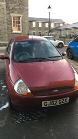 FORD KA LUXURY PARTS/REPAIRS/FIRST CAR