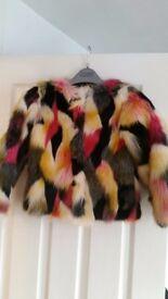 Coat winter childs flux fur coat from next