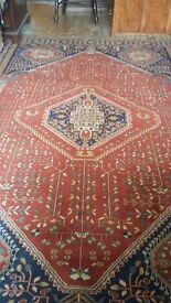 Hand made Egyptian wool carpet