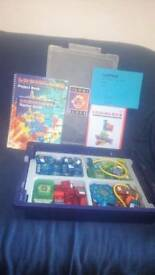 LOGIBLOCS electronic discovery system EducationalPrimaryPack +ProjectBook+TeacherGuide+WorkCardsPack