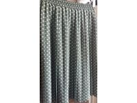 Vintage Green White Polka Dot Pleated Skirt Size 10