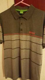 Hugo Boss Polo Shirt XL - grey