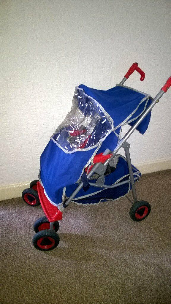 Dolls pram and car seat