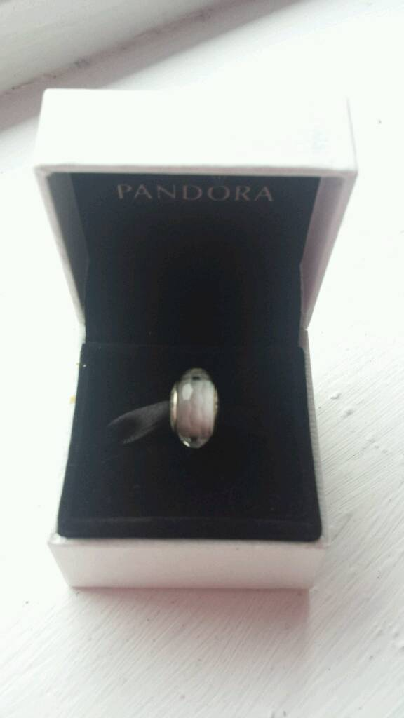 White faceted murano pandora charmin Derby, DerbyshireGumtree - White faceted murano pandora charm for sale. A very beautiful, genuin charm and is in good condition. Originally cost £35.COLLECTION ONLY Chaddesden