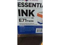 Epson Ink Cartridges SX & DX Series Full Set Black,Blue,Megenta & Yellow