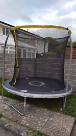 FREE 8 foot trampoline 6 months old (buyer dismantles on collection)