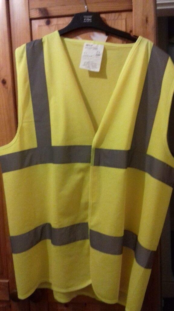 Mens High-Vis Safety Vest for sale