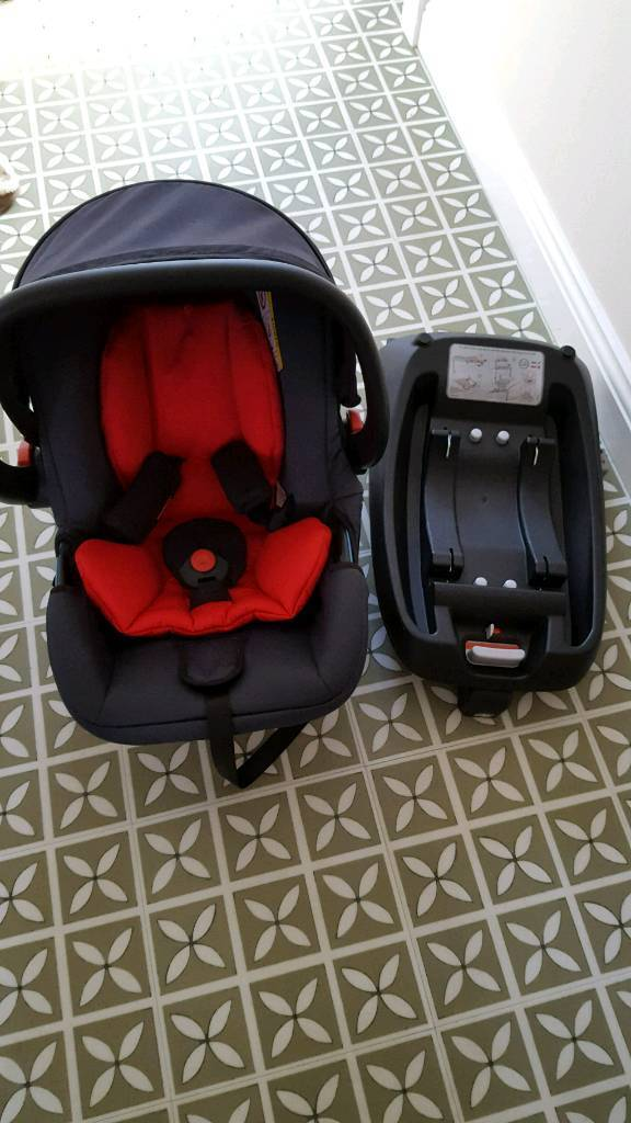 Phil And Teds Baby Car Seat Isofix Base With Adapters For Buggy