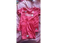 Liverpool kit aged 6-7