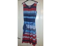 Size 16 Per Una (M&S) Striped dress