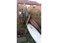Windsurfing equipment
