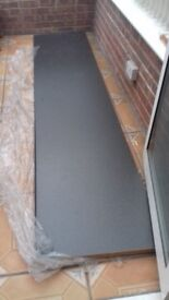 Laminate kitchen worktop grey colour