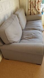 Grey Sofa - moderate wear - light marks - suit students