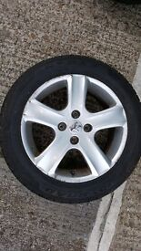 PEUGEOT AIIOW WITH TYRES 205/55 R16