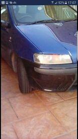Fiat punto 1.2 MOT till 4th September 2017