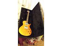 prs se 245 singlecut electric guitar beautiful bird inlays lovely flamed top prs hard case