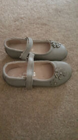 Next grey party/christmas shoes size 10 used
