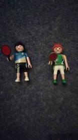 Playmobil table tennis players 5197