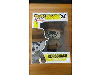 Very Rare Boxed DC Comics Funko Pop! Watchmen Rorschach Figure - £150