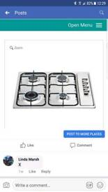 Brand new gas hob still in box