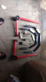All In One Paddock Stand 5068 - Black Pro Range B5068 All In One Paddock Stand