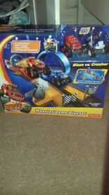 Blaze and the monster machines dome playset