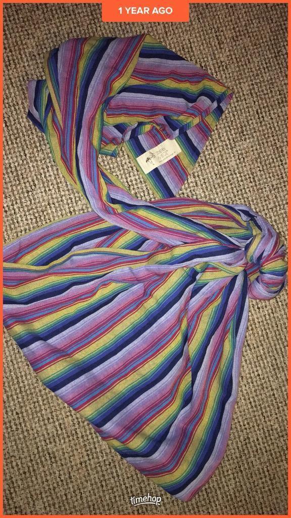 Storchenwiege ring sling - rainbow