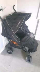 Mamas and papas double pushchair hardly used in new conditon