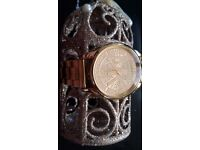 Amazing watches woman's gold cheap MK