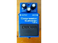 Boss CS-2 Vintage '80s in excellent conditions!
