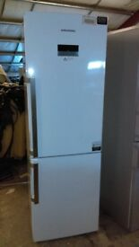 Grundig white fridge freezer new ex display