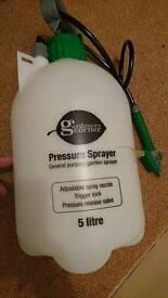 Garden 5L pressure sprayer new!