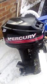 Mercury 2 stroke 8hp outboard