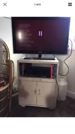 TV Stand Shabby Chic Vintage