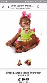 Toddler orangutan monkeys dolls for sale