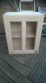 Beechwood wall cupboard