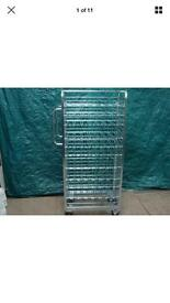 WANZL HIGH QUALITY PICKING UP TROLLEY/WINE RACK