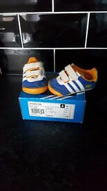 Baby adidas dragon trainers size1