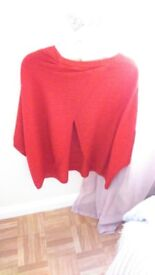 Red top. Worn only once. Per una size 18 m & S