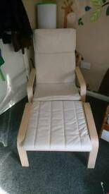 Nursery Chair and Stool/Breastfeeding Chair and Stool