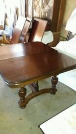 Antique french dinning table