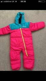 18-24 month girls snow suit