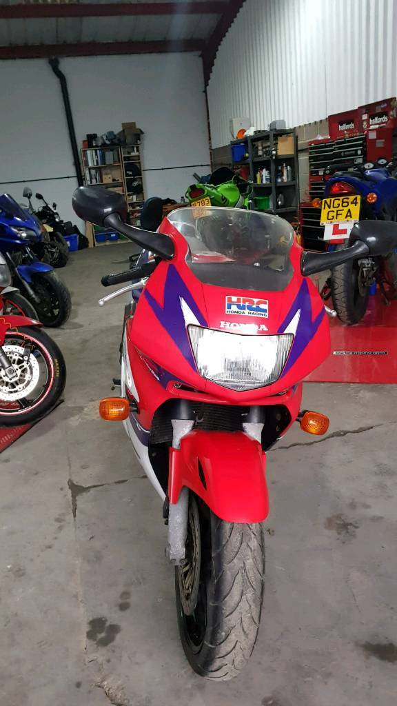 Honda CBR600 F3 FW 1998 Lots of Work Done Cheaper Part Exchange Considered
