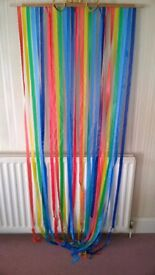 Plastic PVC Strip Multi Coloured Door Curtain
