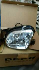 Mercedes sprinter or E classFront fog lights with bulbs fitted