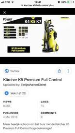 KARCHER K5 FULL CONTROL PRESSURE WASHER