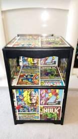 Marvel Comics Bedside Table