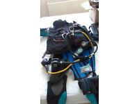Full Womens Scuba Diving Kit