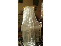 Vintage Cane Bassinet/Crib