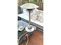 Table Top Gas Patio Heater for sale. Fully working order with connector and regulator. Good Cond